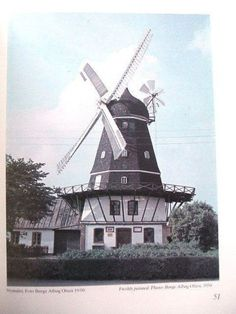 RINGSTED WINDMILL, DENMARK History & Restoration, Holland   eBay