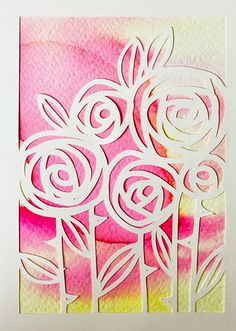 Nopeat äitienpäiväkortit itse tehden! Paper Art, Paper Crafts, Paper Collages, Mothers Day Cards, Summer Art, Spring Crafts, Greeting Cards Handmade, Art Techniques, Diy Tutorial