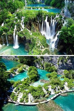Plitvice Lakes, Croatia. 20 UNREAL Travel Destinations you have to see!! Click…