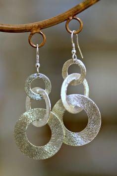 Handmade Links Earrings