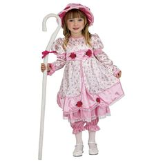 Girls Little Bo Peep Costume - Kids Halloween Costumes