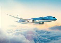 Conheça o novo Boeing 787 Dreamliner da KLM
