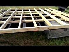 Tiny House Build: How to Build a Sofa that Converts to a Storage Bed [Episode 12] - YouTube