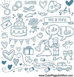 Wedding Coloring Page 27