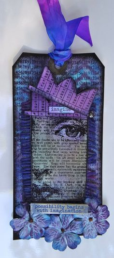 The current challenge at Frilly and Funkie is Anything but a Card ~ With a Twist... you need to hide something somewhere on your piece. I'll admit, that gave me pause but I like it when challenges do that. On Monday I saw that Wendy Vecchi is the focus at...