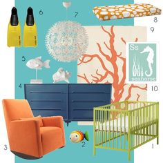 Under the sea nursery ideas