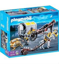 PLAYMOBIL 4874 CONVOI D'OR http://www.playboutik.com/achat-4874-convoi-tresor-des-chevaliers-du-lion-345120.html