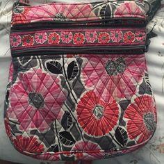Vera Bradley purse Crossbody. Fair condition Vera Bradley Bags Crossbody Bags