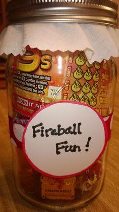 Fireball Fun Jar - Yankee Swap