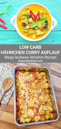 Low Carb Chicken Recipes, Healthy Low Carb Recipes, Low Carb Curry, Low Carb Diet, Food Items, Cravings, Food And Drink, Stuffed Peppers, Meals