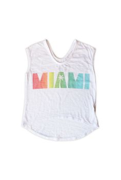 Girls Miami Tee
