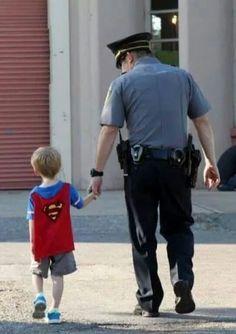 Even Superman has a hero... Law Enforcement Today www.lawenforcementtoday.com