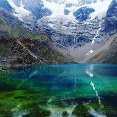 Humantay Lake in Peru, one of the coldest swims I have ever gone for! #travel #naturephotography #beautifuldestinations #hikingperu #outdoorliving #adventurecouple #adventuretime #travelbloggers #eyesofcreators #southafrican