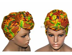 HT86 - Extra long African Head Wraps, fabric from African Basket