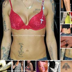 Amy Winehouse Tattoo Story