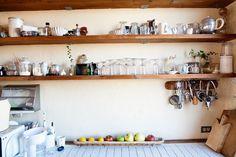 // built in shelving. katsuya kamo kitchen « the selby.