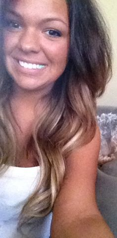 #ombre hair. I have no idea who this is but I want to steal her hair colors!