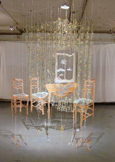 THE SURREAL WORLD OF AMANDA MCCAVOUR - TESTILE ARTIST - CANADA