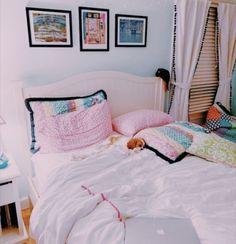 Bedroom Inspo, New Room, Kids Bedroom, Vsco, Toddler Bed, Cozy, Houses, Rooms, Furniture