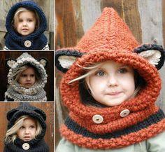 Ces jolis capuchons sont parfaits pour le froid! • Quebec echantillons gratuits
