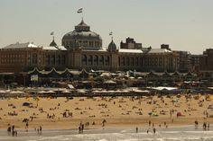 The beach at Scheveningen (Holland).