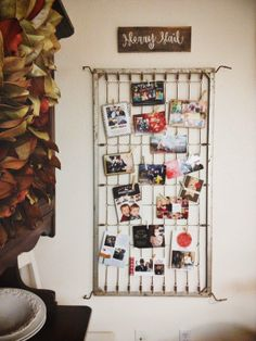 """""""Merry Mail"""" on a crib spring! (Or oversized shutter) Crib Spring, Merry Mail, Christmas Holidays, Christmas Crafts, Bed Springs, Spring Steel, Old Doors, Family Love, Getting Organized"""