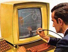 Retro futuristic stylus