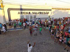 HORA DA VERDADE: ATUALIDADE: Estádio Eliel Martins #ArenaValfredão ...