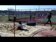 Triple Jump Drills early in the spring short approach triple jumping Sprint Workout, Track Workout, Long Jump, High Jump, Track Drill, Track And Field Events, Right On Track, Jesse Owens, Triple Jump