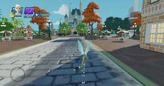 Disneyland Castle, Phineas And Ferb, Disney Infinity, Main Street, Railroad Tracks, Entrance, Maine, Sidewalk, Tours