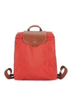 59749263f5 LONGCHAMP Le Pliage Backpack.  longchamp  bags  leather  nylon  backpacks