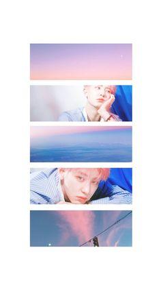 My gradients and you graded in them. More Wallpaper, Colorful Wallpaper, Galaxy Wallpaper, Exo Ot12, Chanbaek, Chanyeol Kokobop, Exo Kokobop, K Pop, Exo Lockscreen