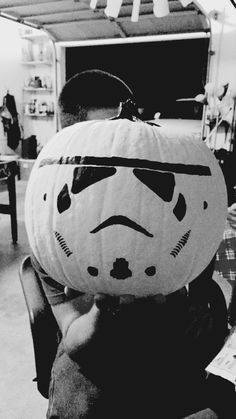 Image result for painted pumpkin star wars