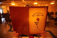 Disney's new Be Our Guest, Beauty and the Beast themed restaurant