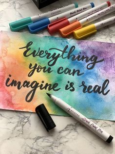 Make cards in an instant with Brush pens from Artistro. Create endless designs and colors in any design style. Paint Marker Pen, Brush Markers, Brush Pen, Hand Lettering Art, Brush Lettering, Gifts For Family, Gifts For Kids, Paint Pens For Rocks, Calligraphy Pens