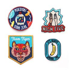 Iron on Patches - Fab is Everyday Design.