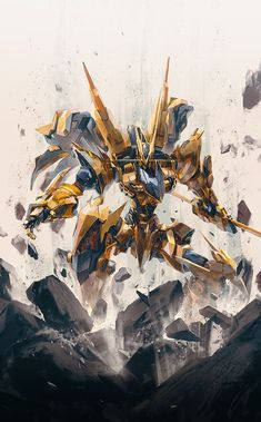 Robot Concept Art, Armor Concept, Mecha Suit, Gundam Wallpapers, Arte Robot, Accel World, Futuristic Armour, Cool Robots, Gundam Art