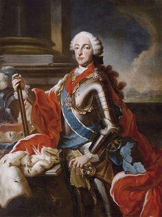 Georges Desmarées, Portrait of Maximilian III Joseph, Elector of Bavaria, c. 1750 - 1776