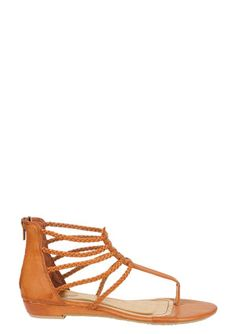 e3b3870820d8 sandals at delia in chestnut white and black