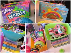 80's theme 35th birthday party favors