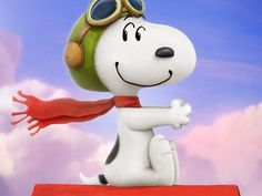 Snoopy -- coming soon in 2015  http://www.usatoday.com/story/life/movies/2014/11/16/peanuts-movie-sneak-peek/18975553/