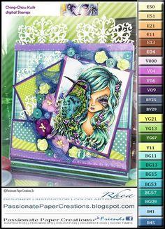 Passionate Paper Creations: Awake in Purple Dream