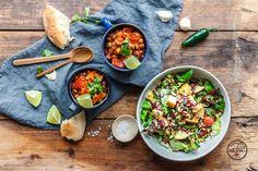 Easypeasy und superleckeres veganes Camping Chili mit dreierlei Bohnen &…