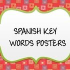 Spanish ley words posters to help ready to print and laminate. You can display them or use it as flashcards to help student when speaking....