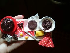 Chocolate board made by despina sofiolaki polymer clay creations