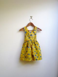 vintage french toddler dress x