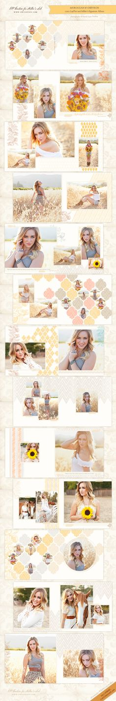 the new Moroccan and Chevron Collection is a favorite with fans and clients! Can't wait to hear the feedback from your seniors and brides! /// http://store.millerslab.com/collections/ew-couture /// special thanks to Studio 12 Seniors {by Sarah Lane Studios} for the beautiful images!