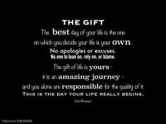 The best gift you can give, is the one you give yourself!  Always take care of yourself first and you'll have more to give others.