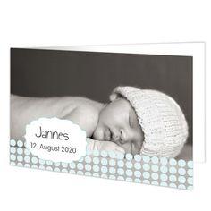 Geburtskarten Jungen - Babykarte Oskar