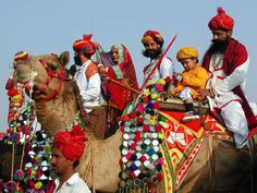 Rajasthan is a great place to experience the hospitality of the locals and witness the colorful culture.